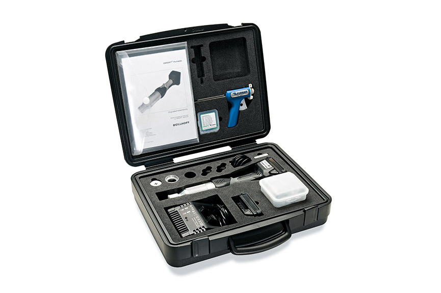 ONSERT® Portable – Battery-operated manual installation tool in carry case