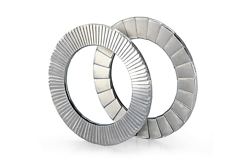 Twin-Lock Keilsicherungsscheibe für maximale Losdrehsicherheit auch bei starken Vibrationen