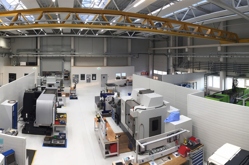 A look into the company's own toolmaking of Böllhoff Elasmo Systems GmbH in Austria