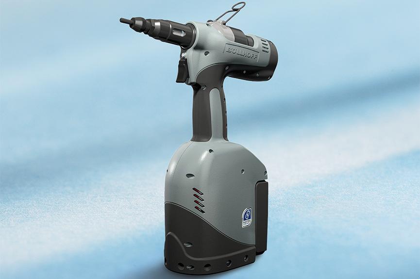 Установочный инструмент с батарейным питанием RIVKLE® B2007