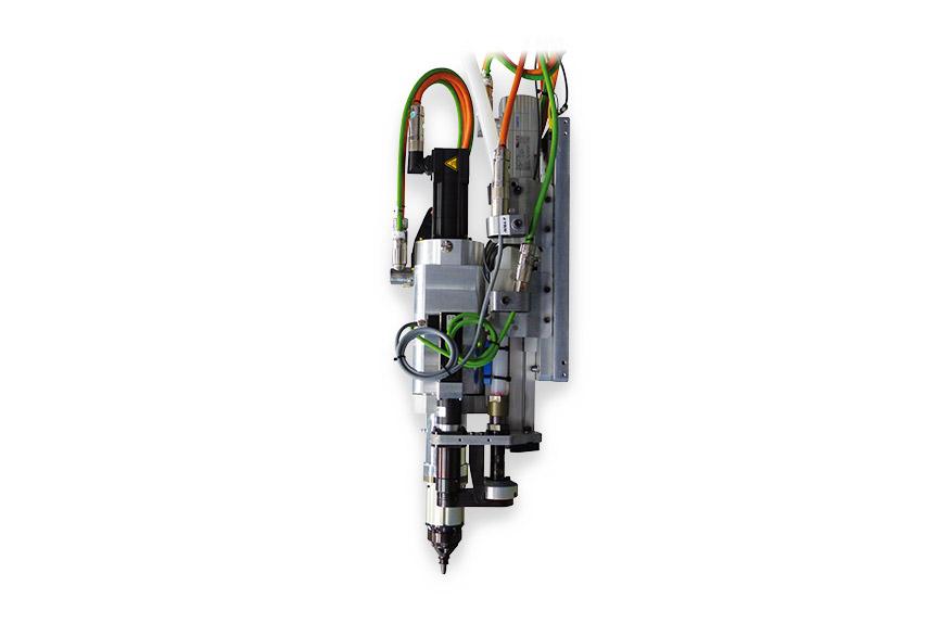 Remachadora tuercas RIVKLE® ESA 2.0 – Cabeza de colocación eléctrica y automática para tuercas y pernos remachables RIVKLE® (M 5 a M 8)