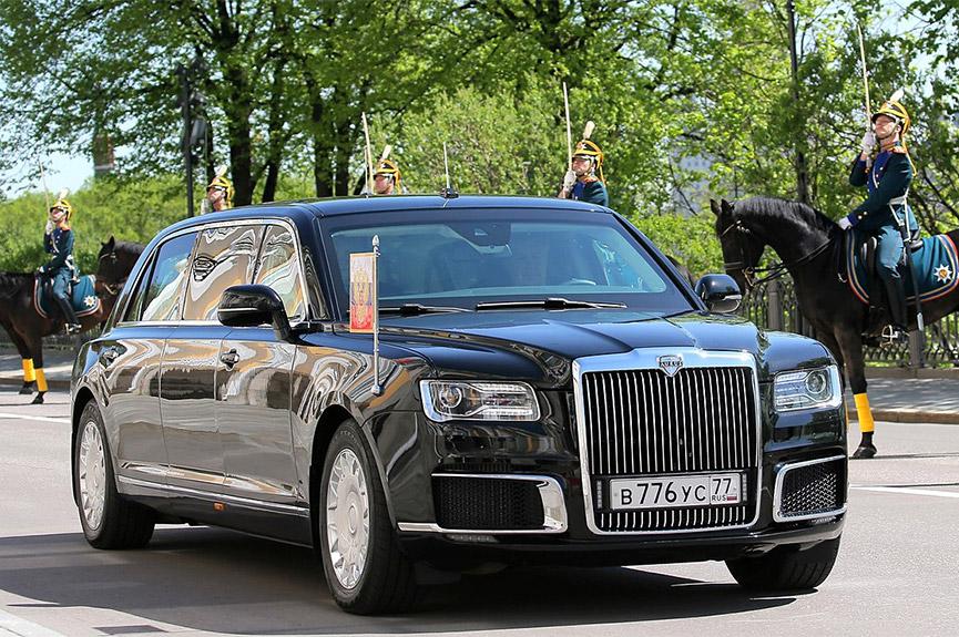 Лимузин AURUS «Сенат» – Основной служебный автомобиль президента России