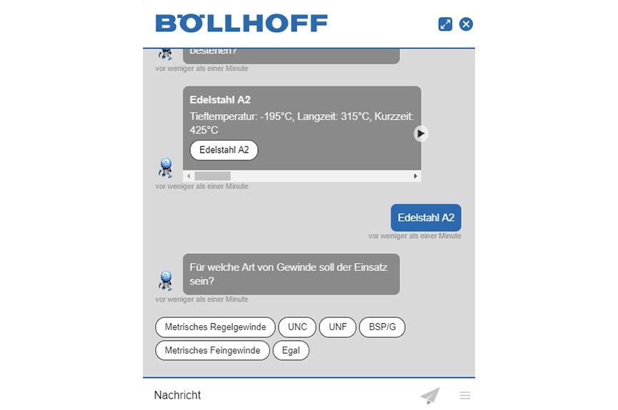 Unser HELICOIL® Chatbot – Heli, der Gewinde-Hero