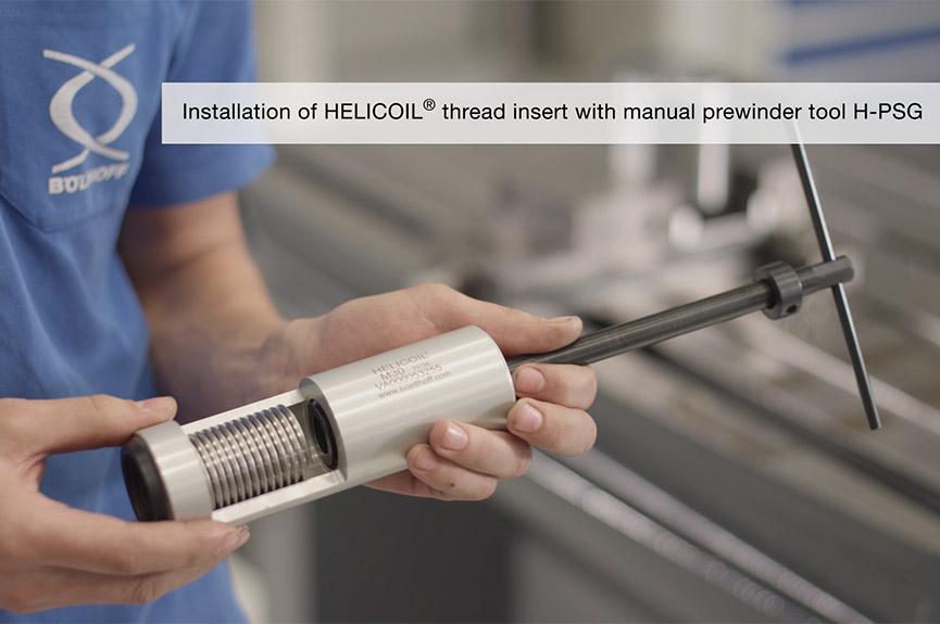 Thread inserts for metals HELICOIL® | Böllhoff