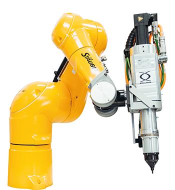 Stäubli Robotics et Böllhoff – Sertissage robotisé